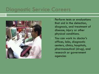 Diagnostic Service Careers