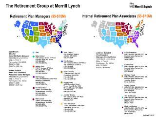 Joe Mrozek Director Corp Mkt Sales Manager 1400 Merrill Lynch Drive Bldg. 4, Floor 4