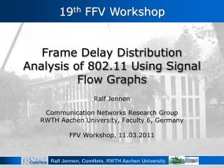 Frame Delay Distribution Analysis of 802.11 Using Signal Flow Graphs