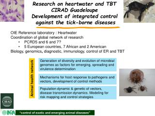 """control of exotic and emerging animal diseases"""