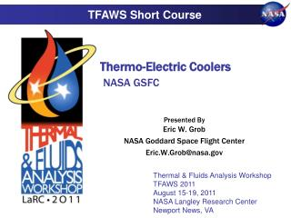 Thermo-Electric Coolers NASA GSFC