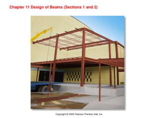 Chapter 11 Design of Beams (Sections 1 and 2)