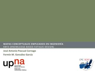 Mapas conceptuales empleados  en  ingeniería KBFD (Knowledge based fatigue design)