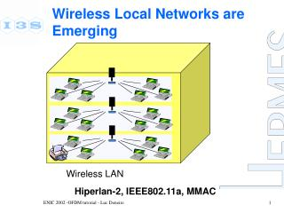 Wireless Local Networks are Emerging