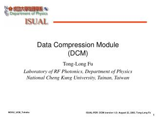 Data Compression Module (DCM)