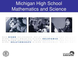 Michigan High School  Mathematics and Science Companion Documents