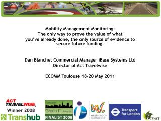 Mobility Management Monitoring: The only way to prove the value of what