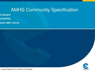 AMHS Community Specification