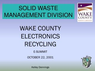 SOLID WASTE MANAGEMENT DIVISION