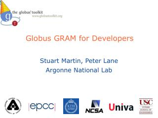 Globus GRAM for Developers