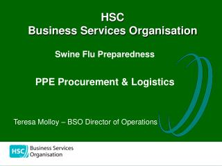 HSC  Business Services Organisation