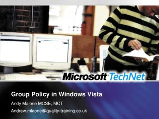 Group Policy in Windows Vista