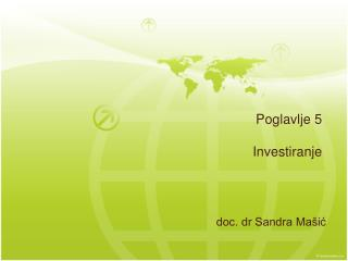 Poglavlje 5  Investiranje