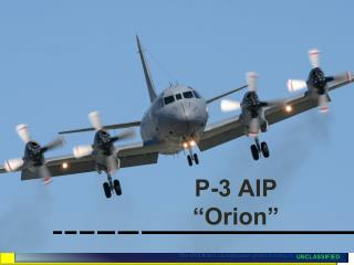 "P-3 AIP ""Orion"""
