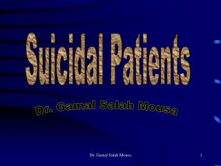 Suicidal Patients