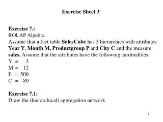 Exercise Sheet 3