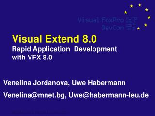 Visual Extend 8.0 Rapid Application  Development with VFX 8.0
