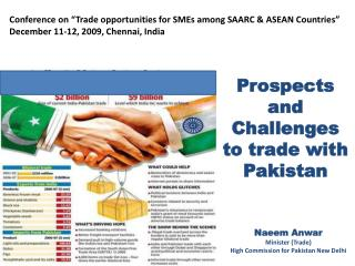 Prospects and Challenges  to trade with Pakistan