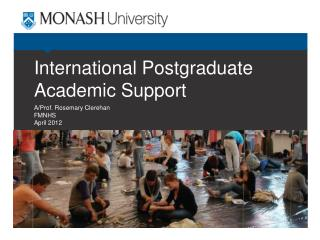 International Postgraduate Academic Support