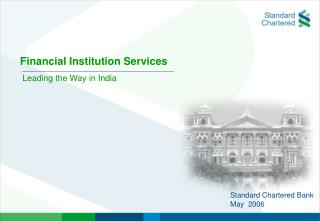 Financial Institution Services