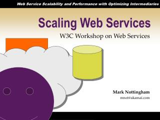 Scaling Web Services