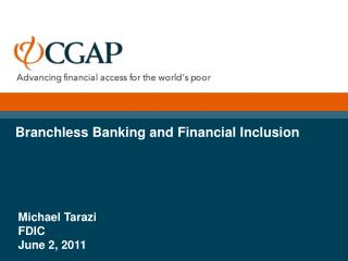 Branchless Banking and Financial Inclusion