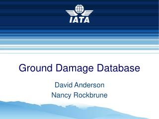 Ground Damage Database