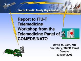 David M. Lam, MD Secretary, TMED Panel Geneva 23 May 2003