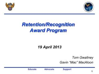 Retention/Recognition Award Program