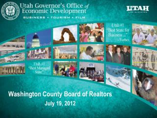Washington County Board of Realtors July 19, 2012