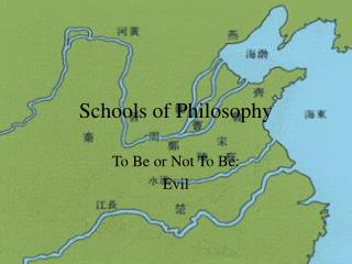 Schools of Philosophy