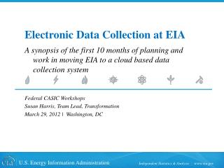 Electronic Data Collection at EIA
