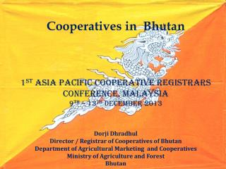 Bhutan at glimpse