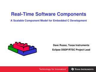 Real-Time Software Components A Scalable Component Model for Embedded C Development