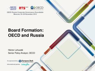Board Formation:  OECD and Russia