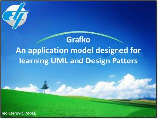 Grafko An application model designed for learning UML and Design Patters