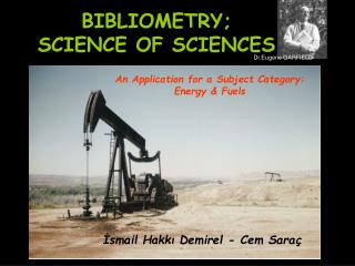 BIBLIOMETRY; SCIENCE OF SCIENCE S