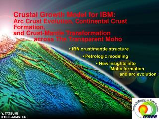 IBM crust/mantle structure