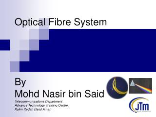 "What is ""Fiber Optics""?"