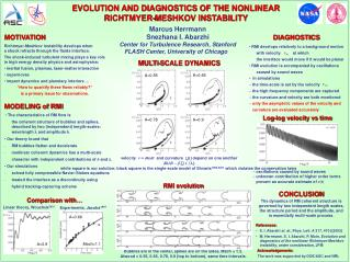 EVOLUTION AND DIAGNOSTICS OF THE NONLINEAR RICHTMYER-MESHKOV INSTABILITY