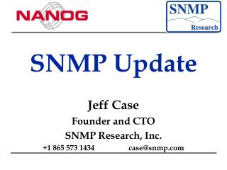 SNMP Update