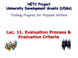 Lec. 11. Evaluation Process & Evaluation Criteria