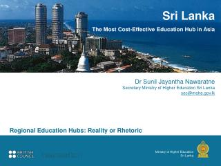 Ministry of Higher Education Sri Lanka