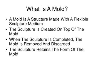 What Is A Mold?