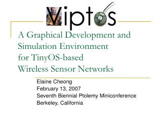 A Graphical Development and Simulation Environment  for TinyOS-based  Wireless Sensor Networks
