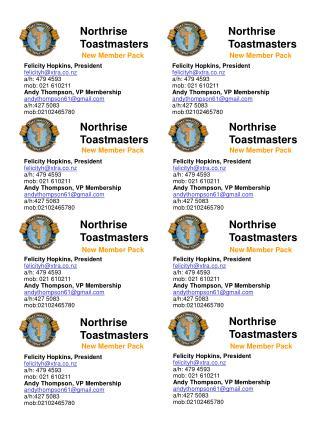 Northrise Toastmasters