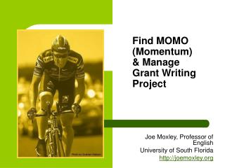 Find MOMO (Momentum) & Manage Grant Writing Project