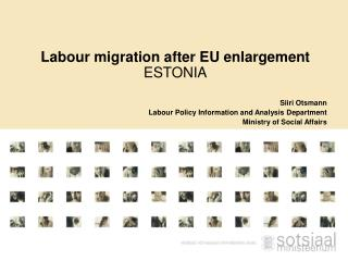 Labour migration after EU enlargement ESTONIA