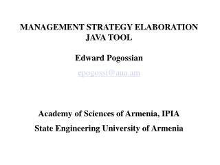 Optimal Management Strategy Provision Problem
