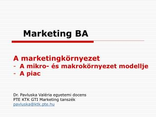 Marketing BA